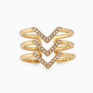 ✨ Stella & Dot Pavé Chevron Ring ✨
